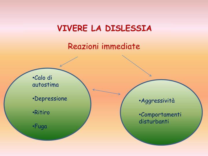 VIVERE LA DISLESSIA