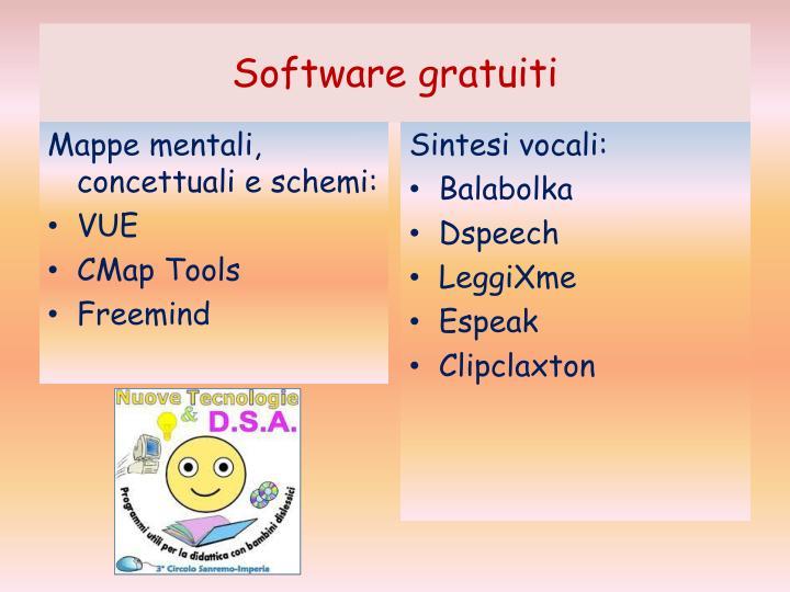 Software gratuiti