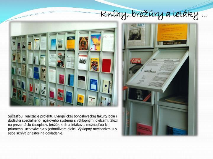 Knihy, brožúry a letáky