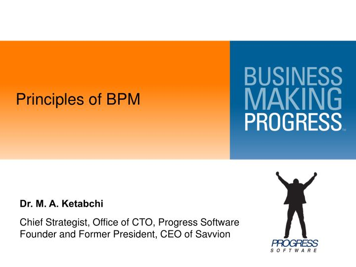 Principles of bpm