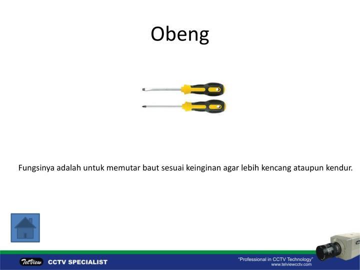 Obeng
