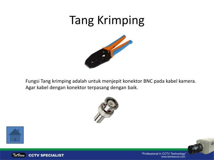 Tang Krimping