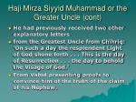 haji mirza siyyid muhammad or the greater uncle cont1