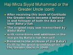 haji mirza siyyid muhammad or the greater uncle cont3