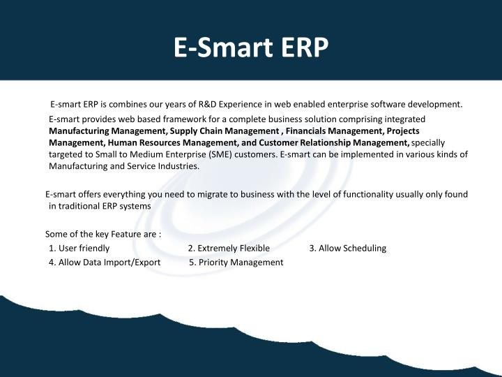 E-Smart ERP