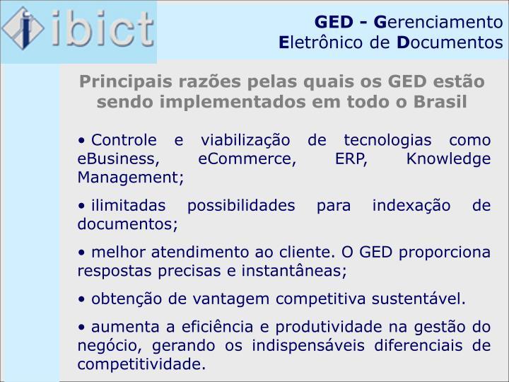 GED - G