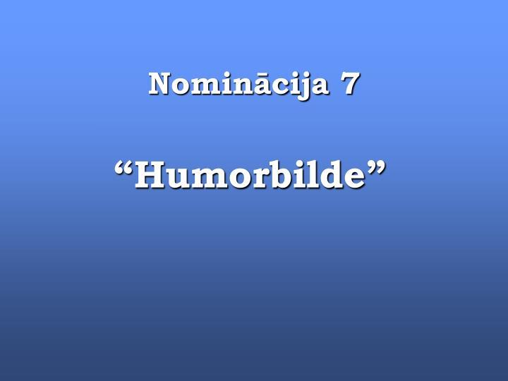 Nominācija 7