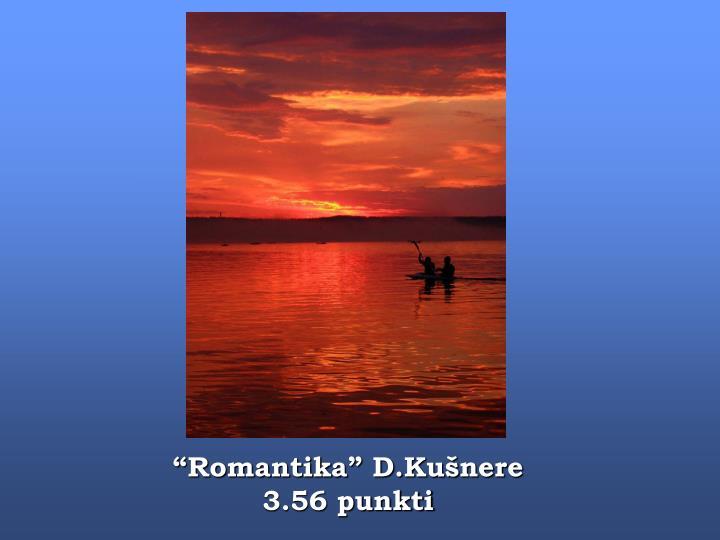 """""""Romantika"""" D.Kušnere"""