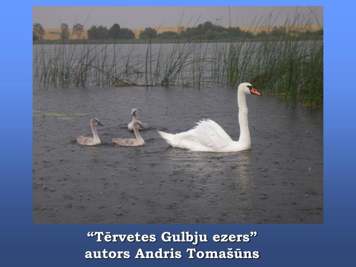"""""""Tērvetes Gulbju ezers"""""""