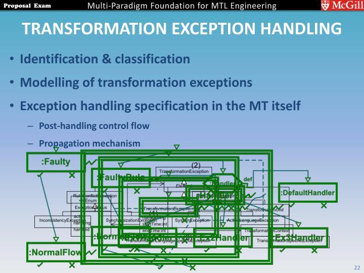 Transformation Exception Handling