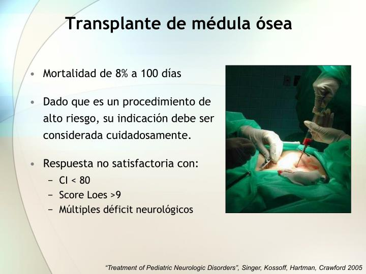 Transplante de médula ósea