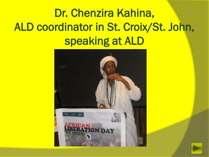 Dr. Chenzira