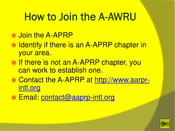 How to Join the A-AWRU