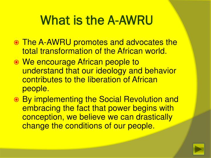 What is the A-AWRU