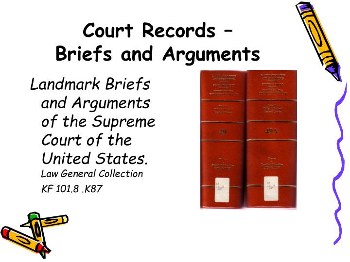Court Records –