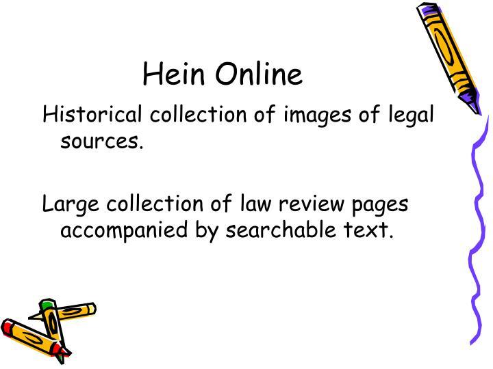 Hein Online
