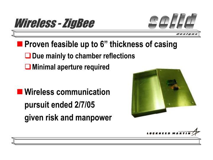 Wireless - ZigBee