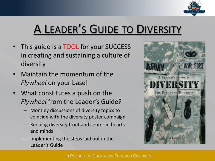 A Leader's Guide to Diversity