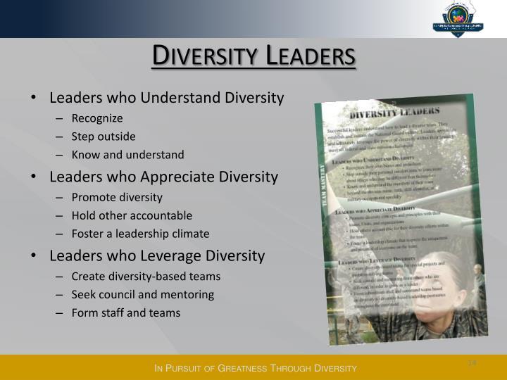 Diversity Leaders
