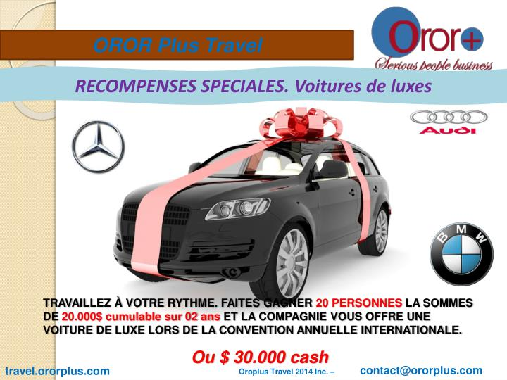 OROR Plus Travel