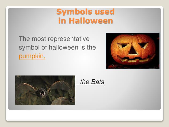 Symbols used in halloween