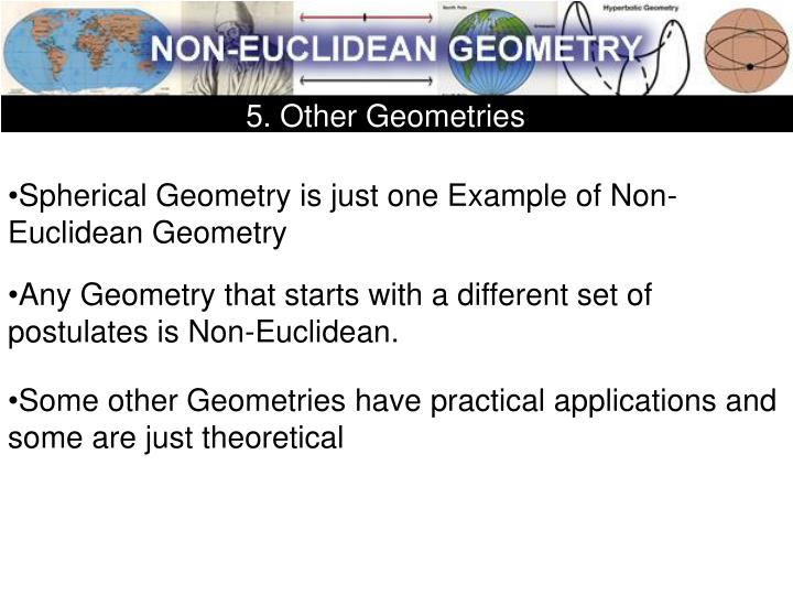 5. Other Geometries