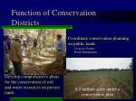function of conservation districts