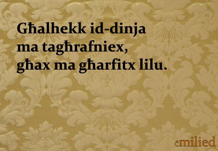 Għalhekk