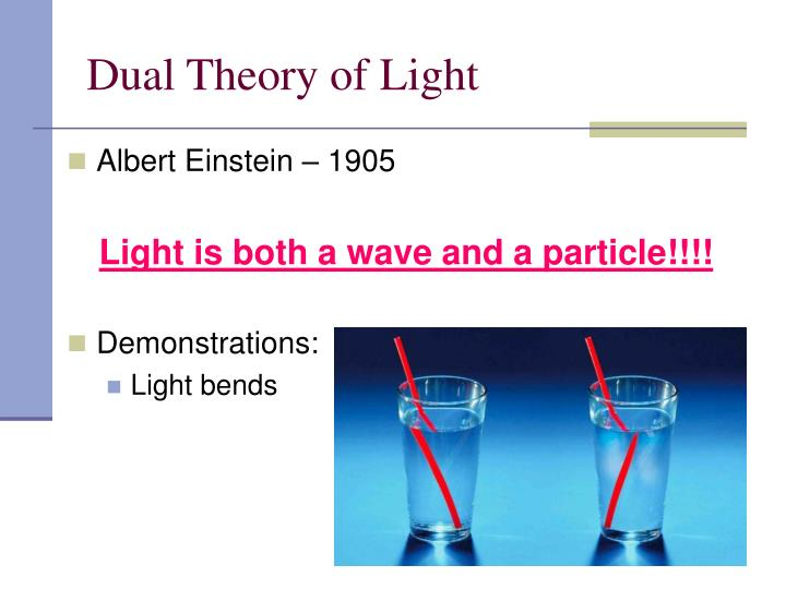 Dual Theory of Light