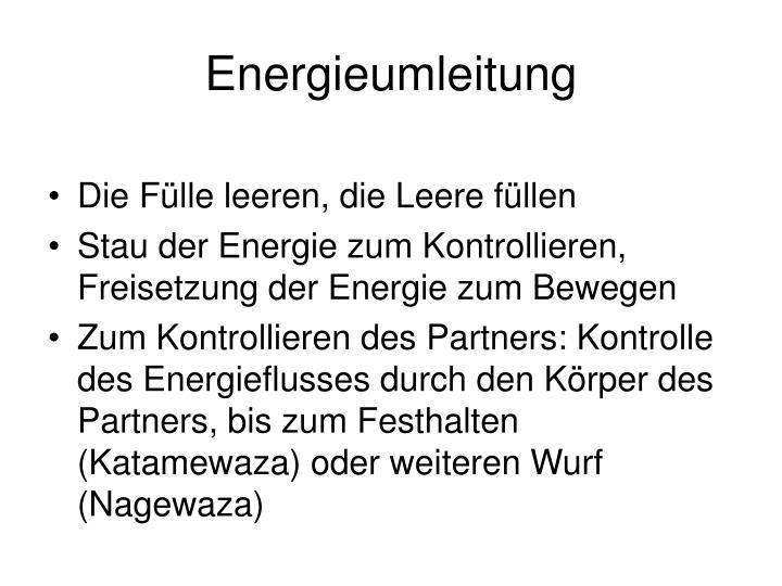 Energieumleitung