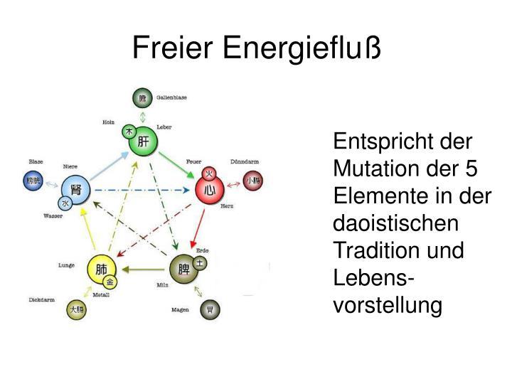 Freier Energiefluß