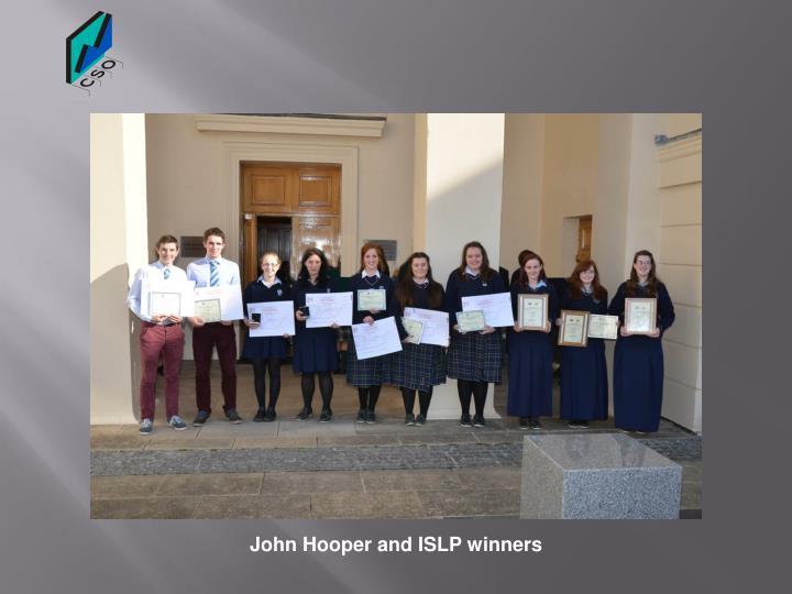 John Hooper and ISLP