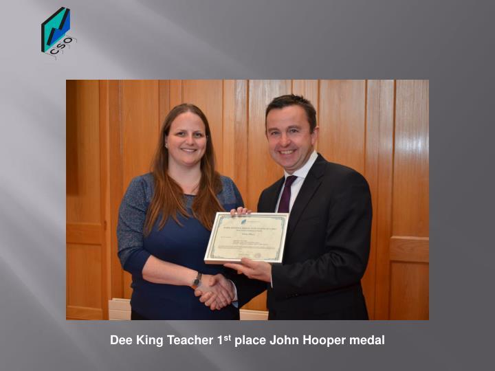 Dee King Teacher 1