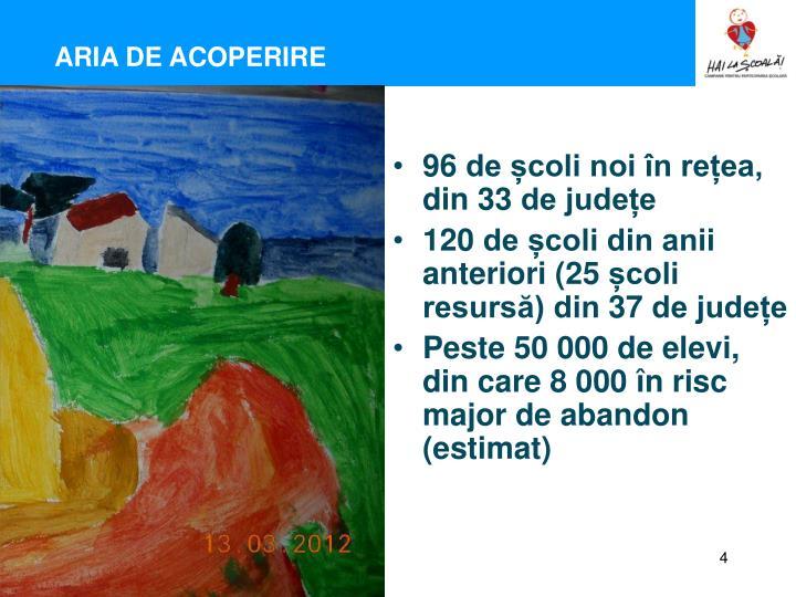 ARIA DE ACOPERIRE