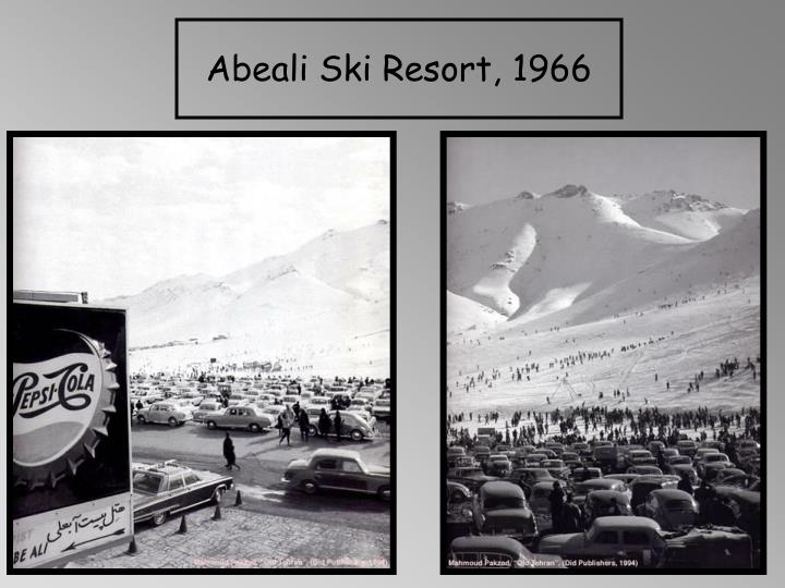 Abeali Ski Resort, 1966