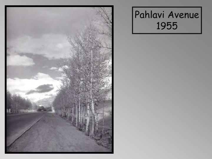 Pahlavi Avenue 1955