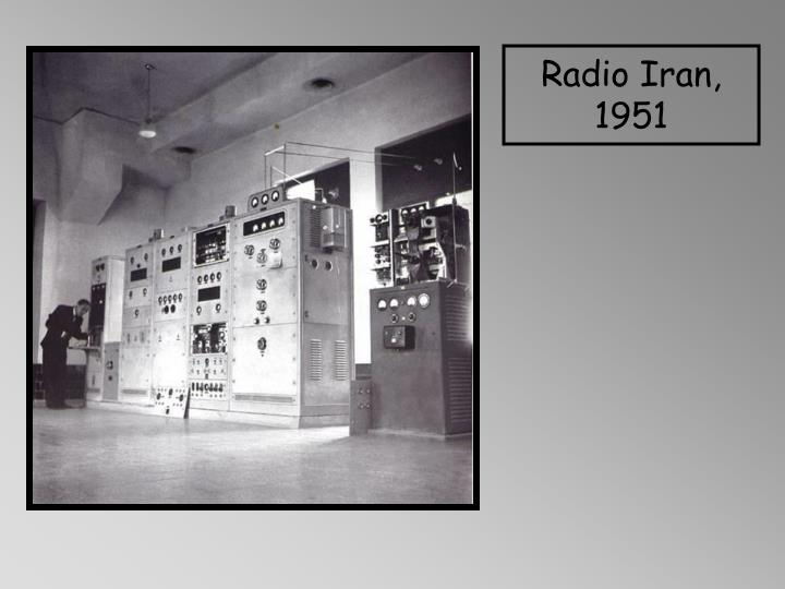 Radio Iran, 1951