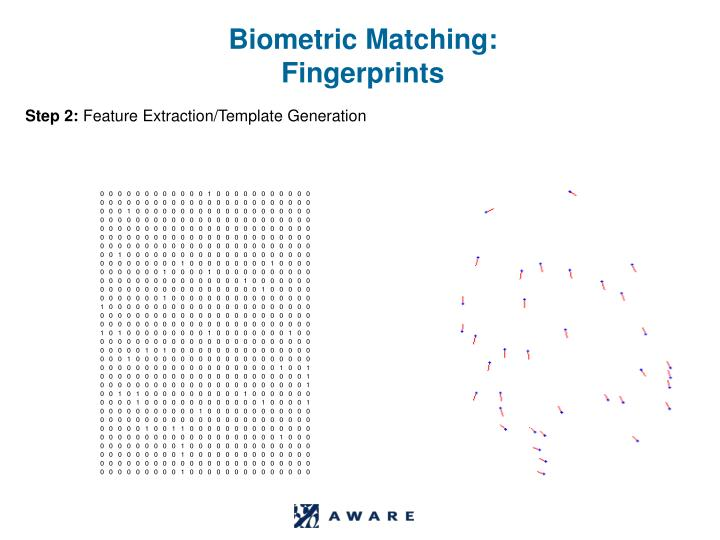 Biometric Matching: