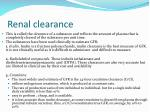 renal clearance1