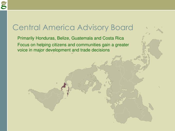 Central America Advisory Board