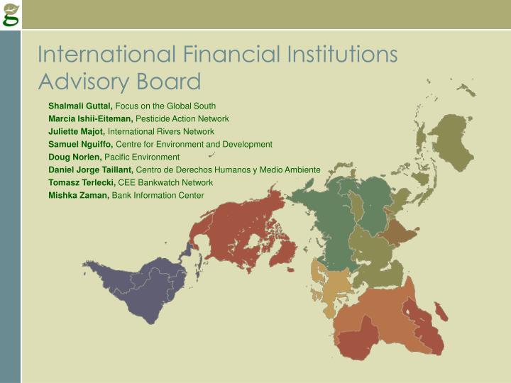 International Financial Institutions