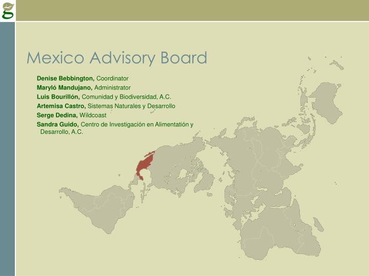 Mexico Advisory Board