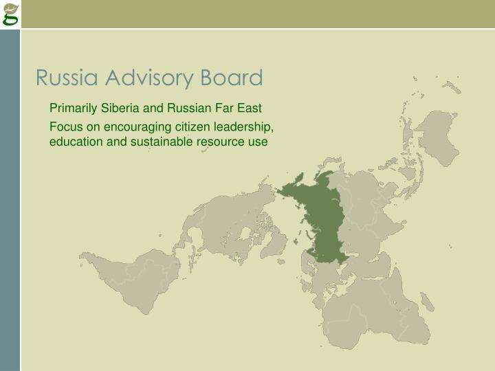 Russia Advisory Board