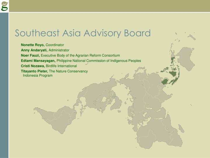 Southeast Asia Advisory Board