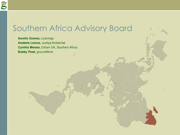 Southern Africa Advisory Board