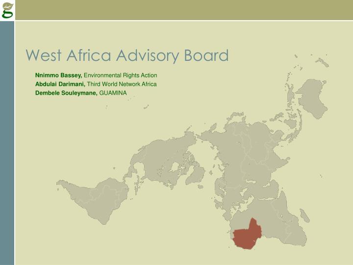 West Africa Advisory Board