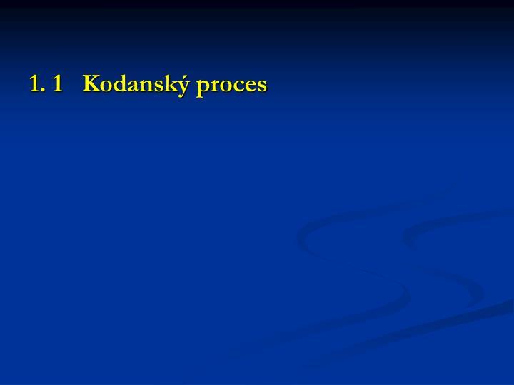 1. 1   Kodanský proces