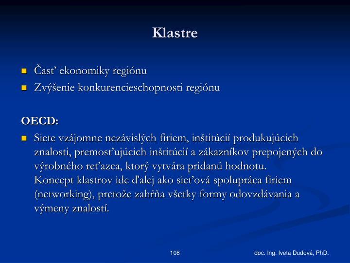 Klastre