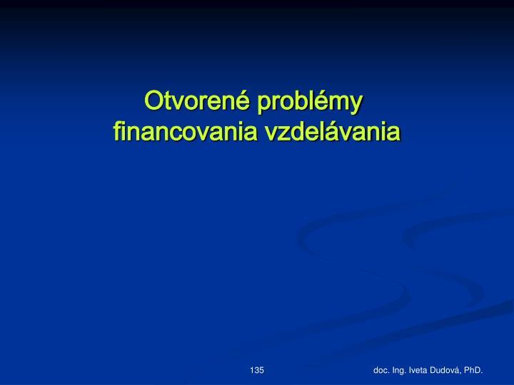 Otvorené problémy