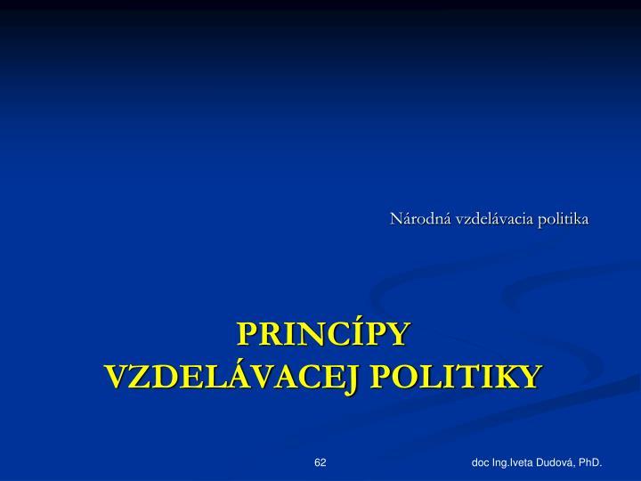 Národná vzdelávacia politika